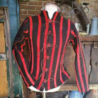 Medieval Costume Tunic Reenactment Theater Red & Black Color Fancy Style • 52.49£