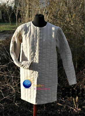 Medieval Gambeson Sca/Hema/Larp Dress Outfit Reenactment Clothing Knight Armor • 51.63£