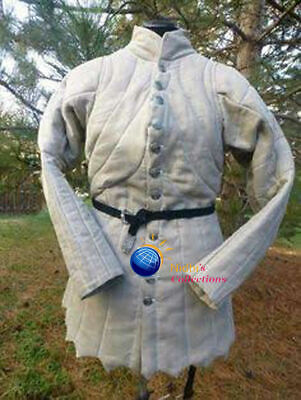 Gambeson Medieval Knight Armor Outfit Clothing Sca/Hema/Larp Dress Reenactment • 56.29£