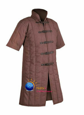 Medieval Gambeson Sca/Hema/Larp Dress Reenactment Outfit Clothing Knight Armor • 58.29£