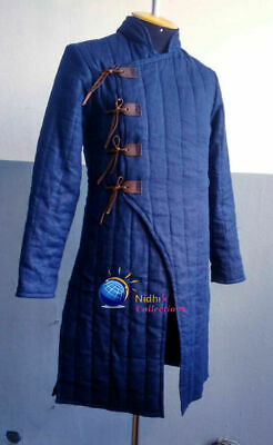 Knight Armor Gambeson Outfit Clothing Medieval Sca/Hema/Larp Dress Reenactment • 60.09£