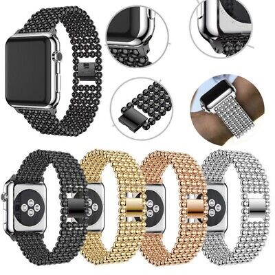 AU17.99 • Buy 42/44mm Apple Watch Band IWatch Series 6/5/4/3/2/1/SE Metal Strap Link Bracelet
