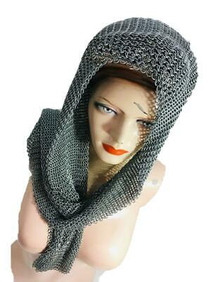 Girl Clothing Scarf Mild Steel Chainmail Costume Beach Wear Party • 38.90£