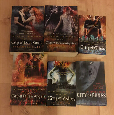 Cassandra Clare The Mortal Instruments A Shadowhunters 6 Books Collection Set • 8.99£