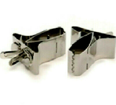 £3.99 • Buy METAL CAGE CLIPS - Small Or Large Lazy Bones Animals Caged Wild Birds Dm Holders
