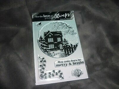 Hunkydory For The Love Of Stamps (5) Home For Christmas New • 8.45£