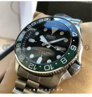 $ CDN1090.67 • Buy Seiko Day Date SKX007 Black Boy Custom Automatic Mens Watch Authentic Working