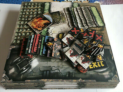 AU23.95 • Buy Zombicide, Green Horde 9 Tiles And Tokens, Plus Friends And Foes 5 Tiles. Used.