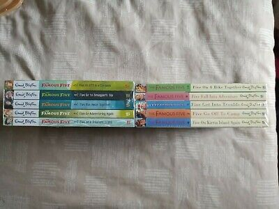 The Famous Five Classic Collections 1-10 Box Set By Enid Blyton NEW & SEALED • 23.99£