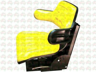 AU125 • Buy Yellow Tractor Universal Suspension Seat John Deere JD Case Massey Ford