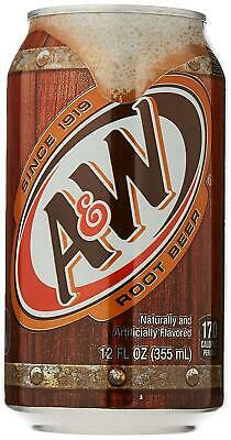 A&W Root Beer (Caffeine Free) 355ml, Pack Of 6 - USA Import • 10.99£