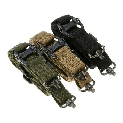 $ CDN19.66 • Buy QD Swivel Adjustable Two Point Rifle Gun Sling 1.25  Hunting Tactical Belt Strap