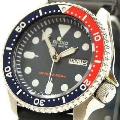 $ CDN613.36 • Buy Seiko SKX009K Day Date Divers 200m Navy Boy Automatic Mens Watch Auth Works