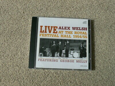 Alex Welsh - Live At The Royal Festival Hall (1954-1955, Live Recording, 2000) • 3.50£