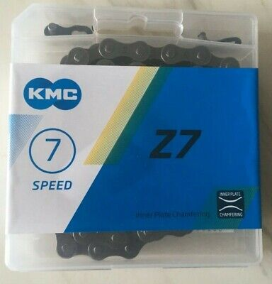 CHAIN  KMC Z7 1/2x3/32  Suitable For  6 7 12 14 18 21 Speed Gears 114 Links • 8.99£