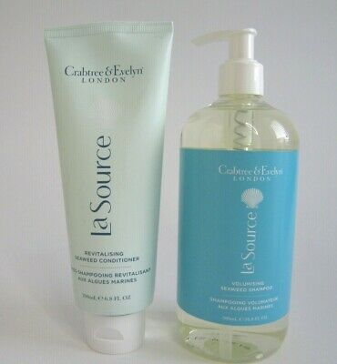 £25.95 • Buy Crabtree And Evelyn La Source Shampoo 500ml & Conditioner 200ml Brand New