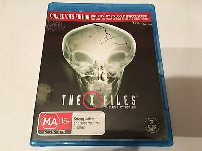 AU59 • Buy The X-files X Files The Event Series Collectors Edition 2 Discs Set Blu Ray Rare