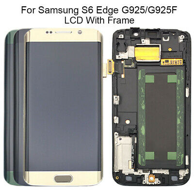 $ CDN107.61 • Buy For Samsung Galaxy S6 Edge G925F Replacement Amoled Screen LCD Touch Digitizer