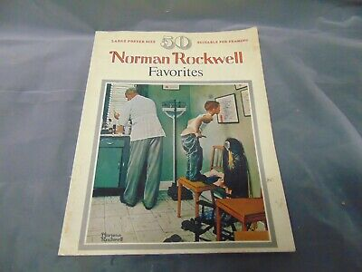 $ CDN14.49 • Buy 1977 Norman Rockwell Favorites Book Large Poster Size 50 Posters 15  X 12