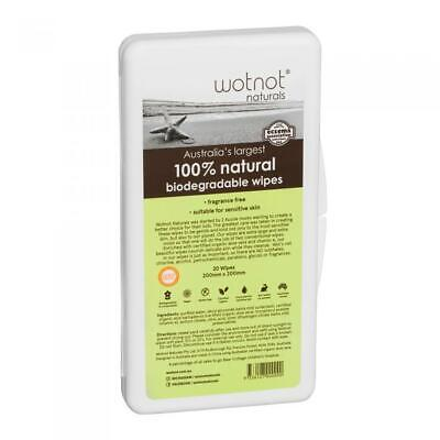 AU4.80 • Buy Wotnot Biodegradable Natural Baby Wipes Dispenser And Refill