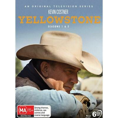 AU84 • Buy Yellowstone : Seasons 1 & 2 (Blu-ray,2020) REGION B