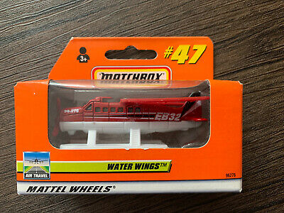 Matchbox #47 Water Wings Plane New Boxed  • 9.99£