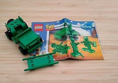 LEGO Toy STORY 7595 Green Army Men JEEP ONLY - With Instructions, Used  • 8.99£