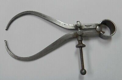 £18 • Buy Vintage Moore & Wright Engineers Spring Calipers, Sheffield Made, Free Postage