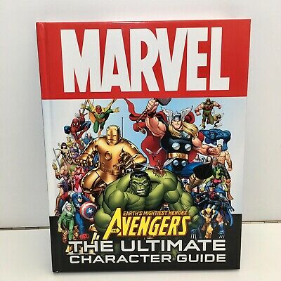 Marvel EARTHS MIGHTIEST HEROES, THE AVENGERS, THE ULTIMATE CHARACTER GUIDE Book • 5.65£