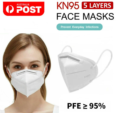 AU36.90 • Buy KN95 Face Mask P2 Particulate Filter Anti Dust N95 Protective Mouth Respirator