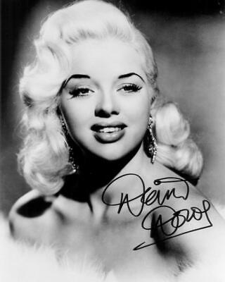Diana Dors SIGNED AUTOGRAPHED 10  X 8  REPRODUCTION PHOTO PRINT • 5.99£