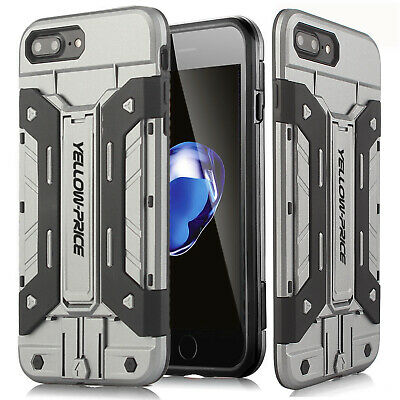 AU15.19 • Buy Slim & Kickstand Tough Armor Case With Card Holder For IPhone SE 2020 / 8 / 7