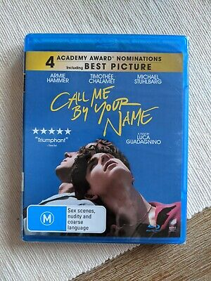 AU17 • Buy Call Me By Your Name Blu-ray NEW + SEALED