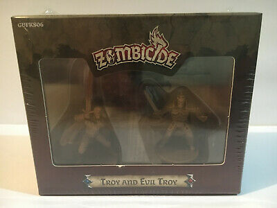 AU43.95 • Buy Zombicide Black Plague KS Characters Troy And Evil Troy In Promo Box. Sealed.