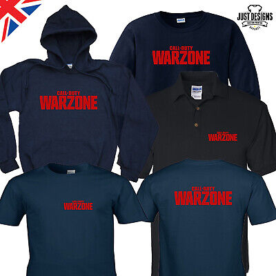 £14 • Buy Call Of Duty WARZONE T-shirt Zipped Hoodie Polo Shirt Jumper COD Modern Warfare
