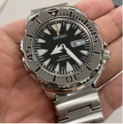 $ CDN1085.39 • Buy Seiko Day Date Divers SRP307 Monster Custom Automatic Mens Watch Auth Works