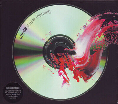 Suede – A New Morning Limited Edition CD  • 2£