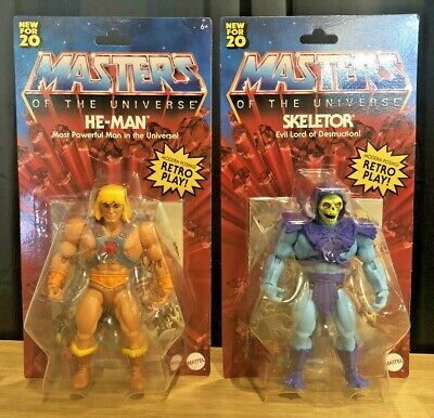 $59.99 • Buy Masters Of The Universe Origins He-Man And Skeletor LOT / SET Walmart Exclusive