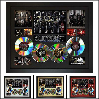 AU93.50 • Buy Slipknot 4CD Signed Framed Memorabilia Limited Ed - Multiple Variations