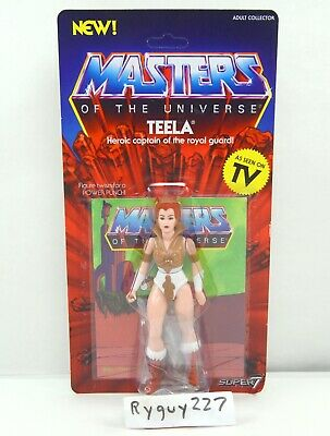 $40 • Buy MOTU, Teela, Filmation Style, Masters Of The Universe, Super7, Figure, MOC, NIP