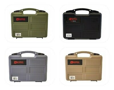Nuprol Small Weapon Pistol Hard Case With Foam (Wave) Ideal For Airsoft  • 13.49£