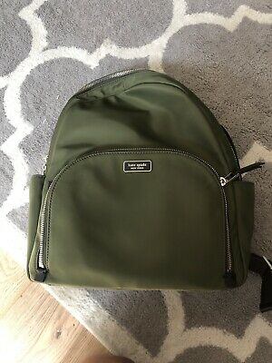 $ CDN129.18 • Buy Kate Spade Dawn Large Backpack ~ Sapling Green Nylon Bag