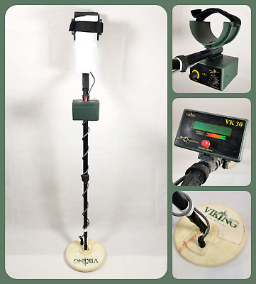 VIKING VK30   Motion & Non-Motion Metal Detector   In-land / Beach   Used Cond. • 150£