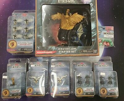 AU161.44 • Buy Dungeons And Dragons Attack Wing Collection D&D WIZKIDS LOT