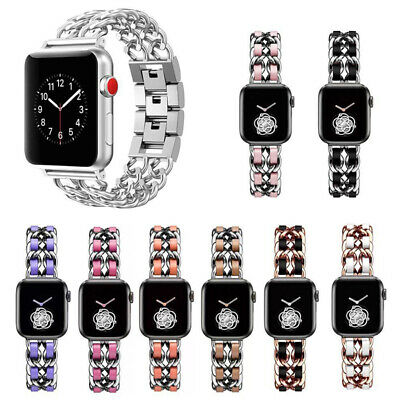 AU18.99 • Buy 40/44mm Stainless Steel Bracelet Apple Watch Band Women Strap IWatch 6 5 4 3 2 1