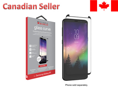 $ CDN5.99 • Buy ZAGG InvisibleShield Glass Curve Screen Protector For Samsung Galaxy S9 - Clear