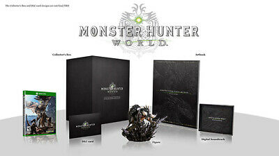 AU300.43 • Buy Monster Hunter: World - Collector's Edition (Microsoft Xbox One, 2018) NEW, RARE