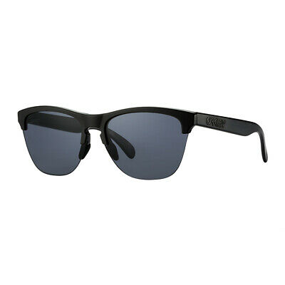 AU59.99 • Buy Oakley Frogskins Lite Sports Sunglasses Black Frame Black Polarised Lens