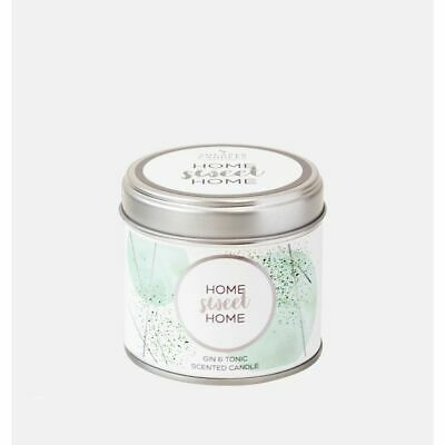 Home Sweet Home Tin Candle • 12.65£