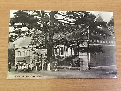 Maidenhead Free Public Library A Frith Postcard • 5.99£